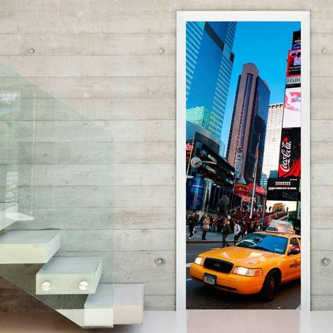 Vinyl for New York City doors