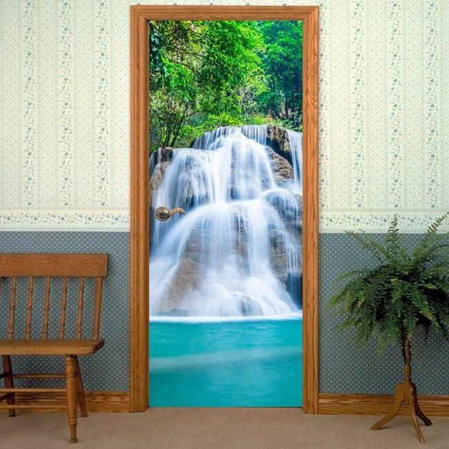 Vinyl doors Cascade Mountain English 6406