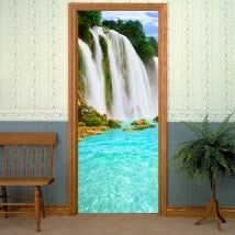 Decorative vinyls for Cascades doors