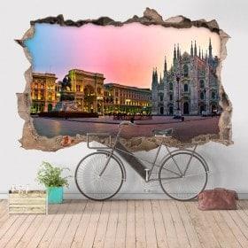 Vinyl 3D Cathedral Duomo Milan Italy