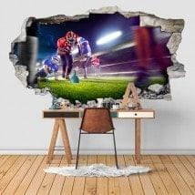 Vinyl football 3D
