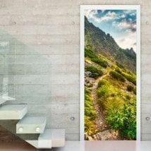 Vinyl doors nature in slovakia