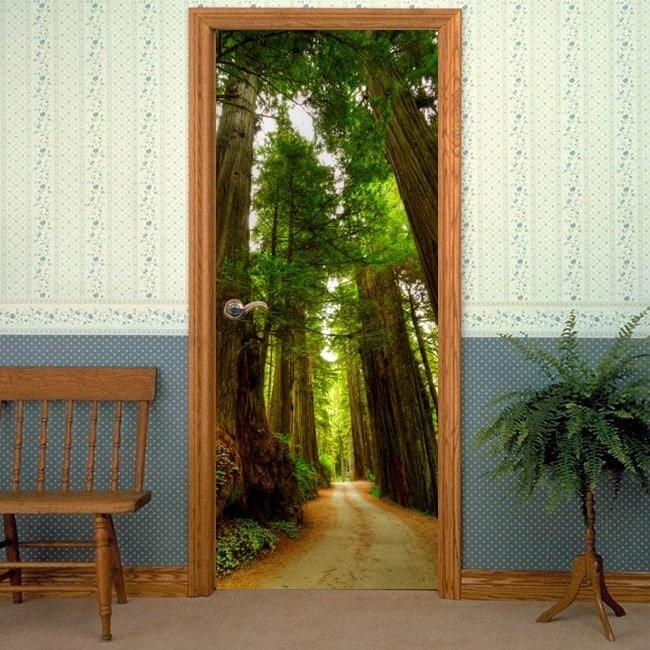 Redwood National Park Vinyls & Door Stickers