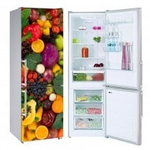 Decorative stickers refrigerators vegetables and fruits