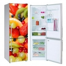 Fridges fruit stickers