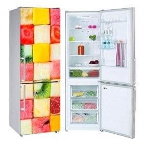Vinyls for refrigerators fruit cubes