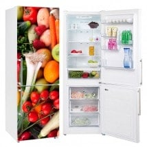 Vinyls for refrigerators vegetables and fruits