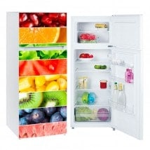 Vinyls for refrigerators fringes fruits