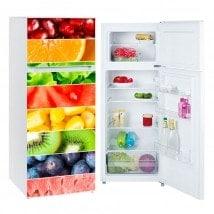 Vinyls for refrigerators fringes fruits