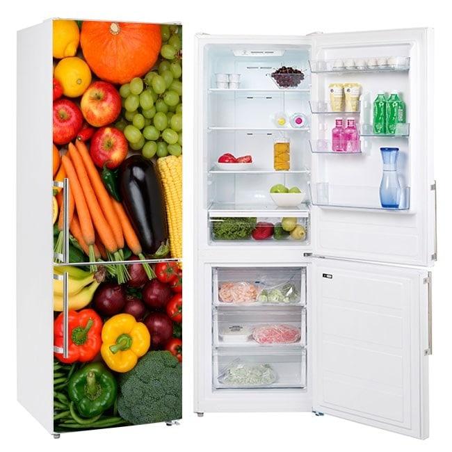 Vinyls for refrigerators fruit and vegetables