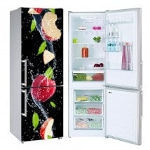 Vinyls for fridge apple splash