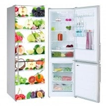 Fruit stickers for refrigerators