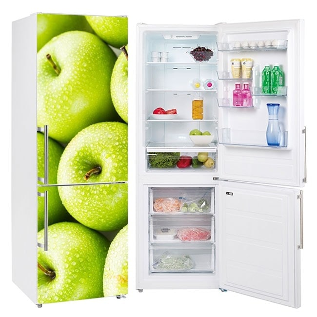 Stickers for refrigerator apples