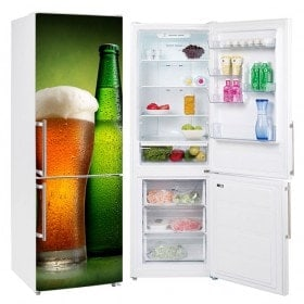 Cold beer stickers for refrigerators