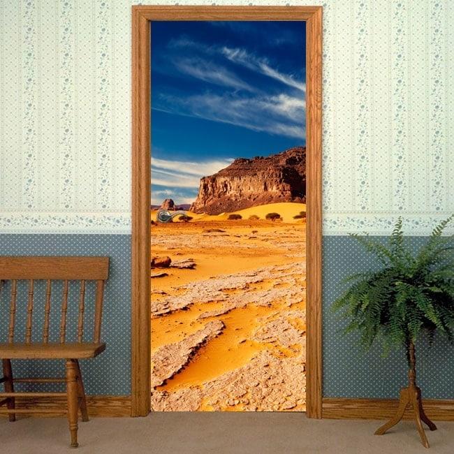 Vinyl for doors desert of Sahara