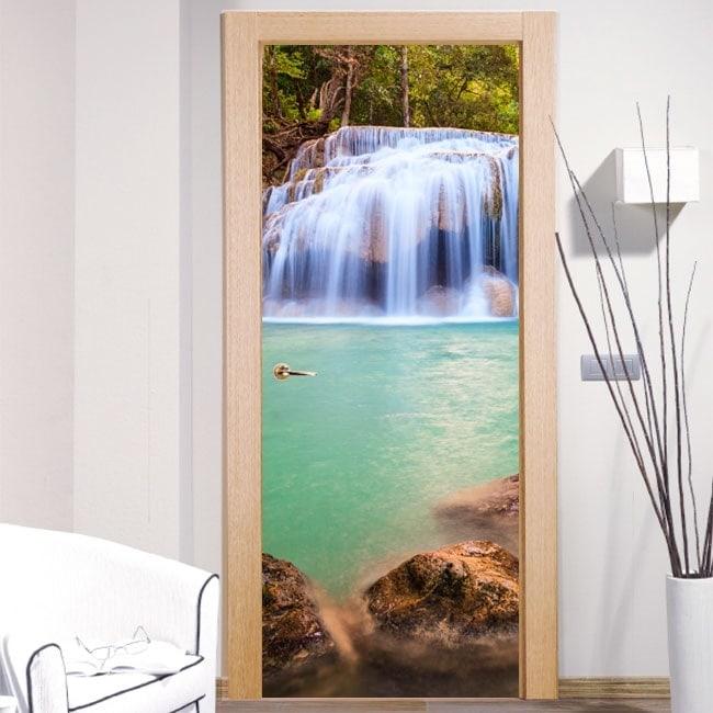 Vinyls door waterfalls
