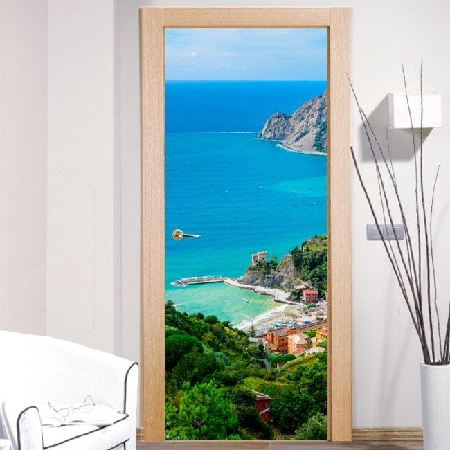 Vinyl for doors Monterosso al Mare
