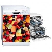 Decorative wall stickers dishwasher fruit collage
