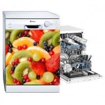 Stickers dishwasher fruits