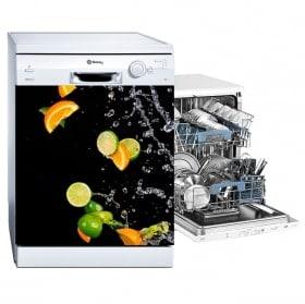 Vinyls dishwasher oranges and lemons