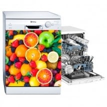 Fruits stickers and vinyl for dishwashers