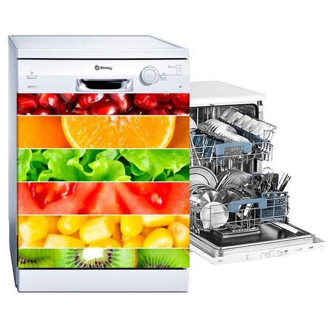 Vinyls dishwasher strips fruits
