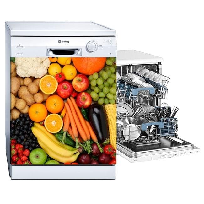 Vinyl for dishwashers fruits and vegetables