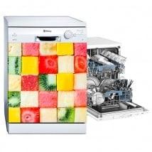 Vinyls dishwasher diced fruit