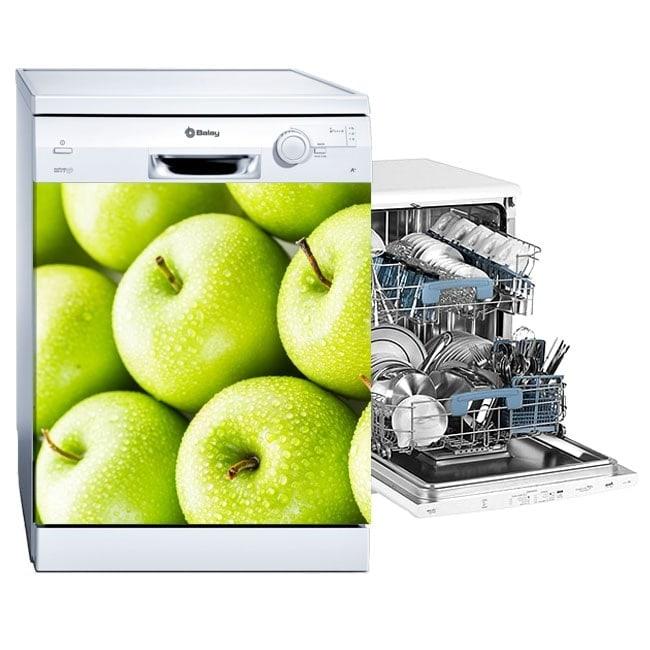 Decorative stickers dishwasher apples