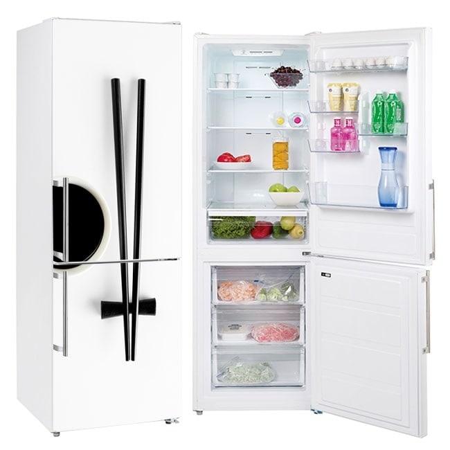 Stickers for refrigerators chopsticks