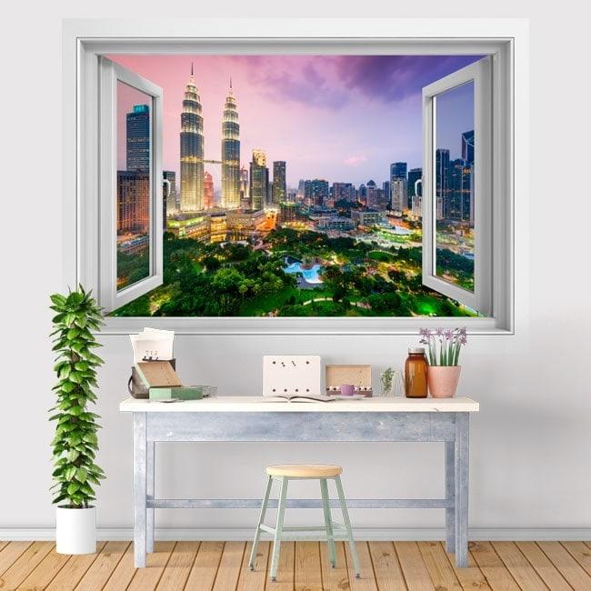 3D vinyl windows Kuala Lumpur Malaysia
