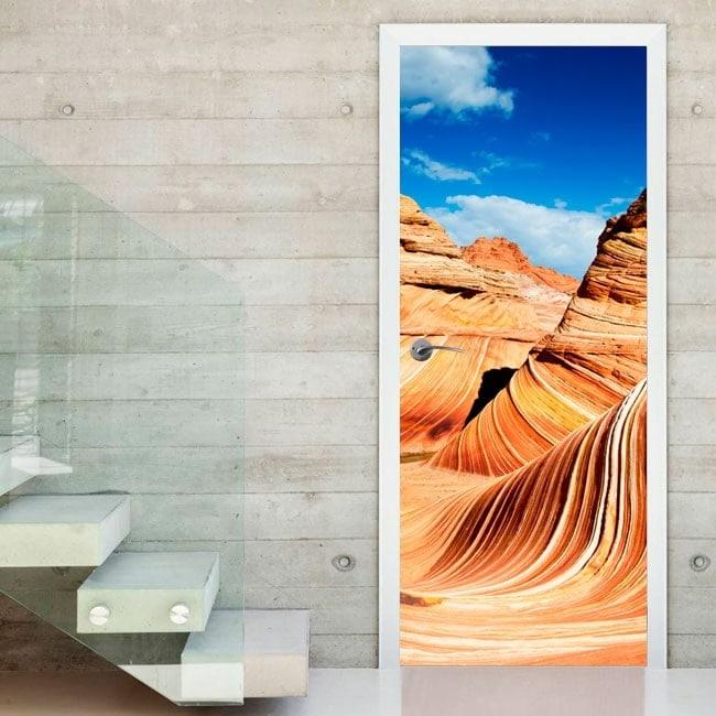 Door decals wave Arizona