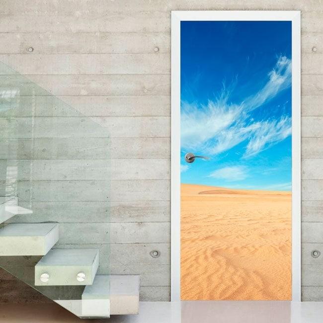 Doors stickers desert