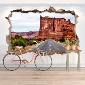 Wall stickers 3D national park of the arches
