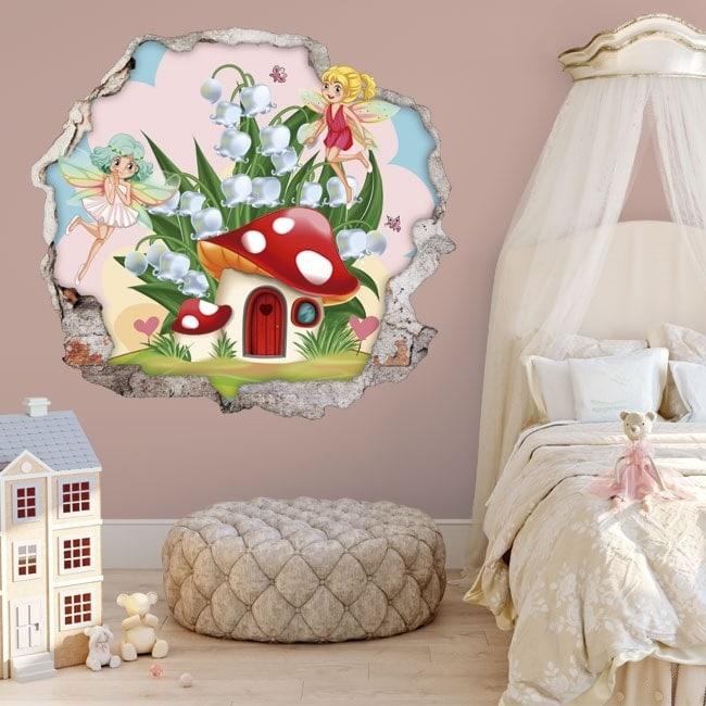 Children's 3D stickers magic fairy