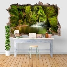 Wall stickers Finnich Glen Scotland 3D