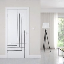 Vinyls for doors strokes with style