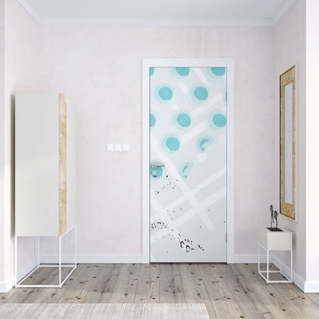 Vinyl for doors passion for color