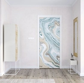 Vinyls for doors marble colors