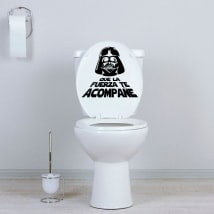 Stickers for bathrooms and walls star wars