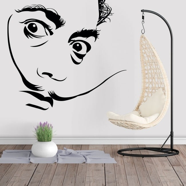 Wall stickers Salvador Dalí