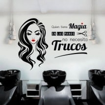 Vinyls beauty salons and hairdressers who has magic