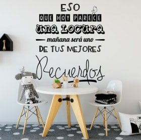 Wall stickers sentences your best memories