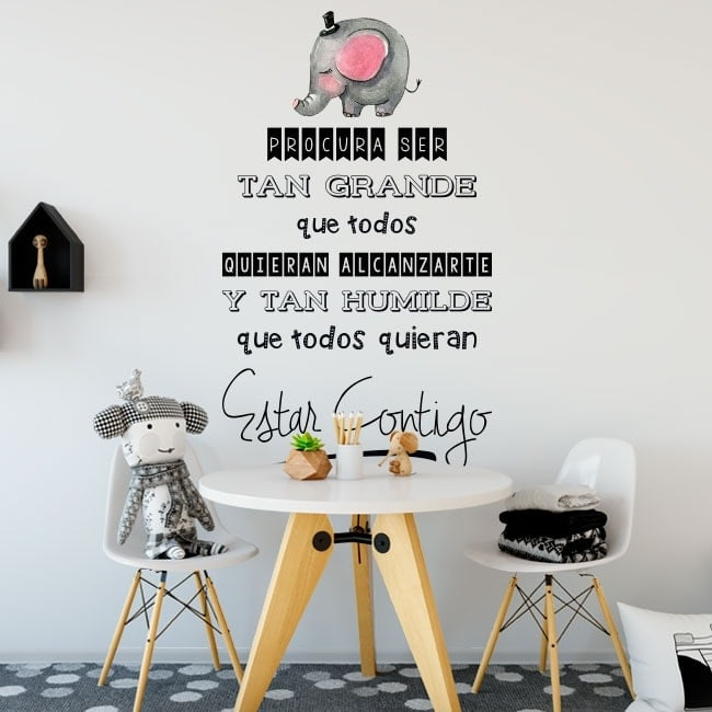 Wall stickers phrases of life