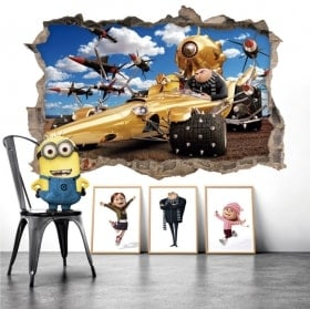 Wallpapers minions despicable me 3D