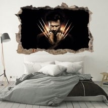 Wall stickers X-Men Origins Wolverine 3D