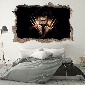 Wall stickers X-Men Origins Wolverine 3D