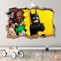 Children's vinyls Batman lego 3D