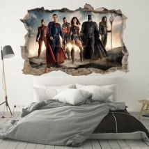 Wall Stickers 3D justice league