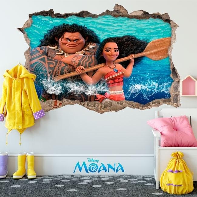 Disney vinyl Moana 3D